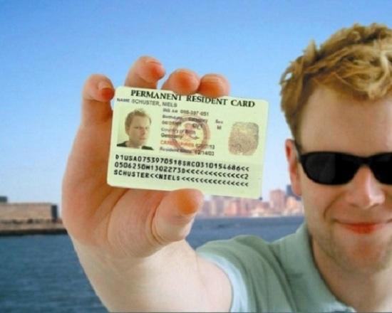Kết quả hình ảnh cho thẻ xanh mỹ